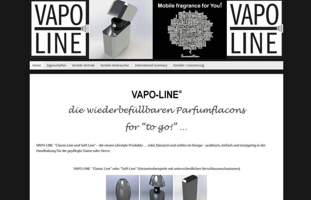 Screenshot VAPO-LINE 1367x870