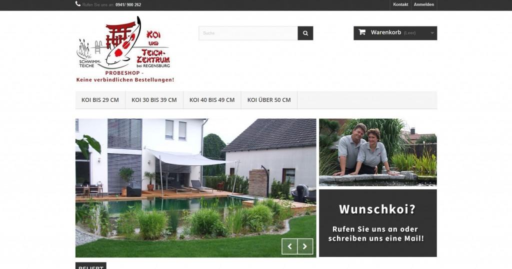 Koi- & Teichzentrum Online-Shop